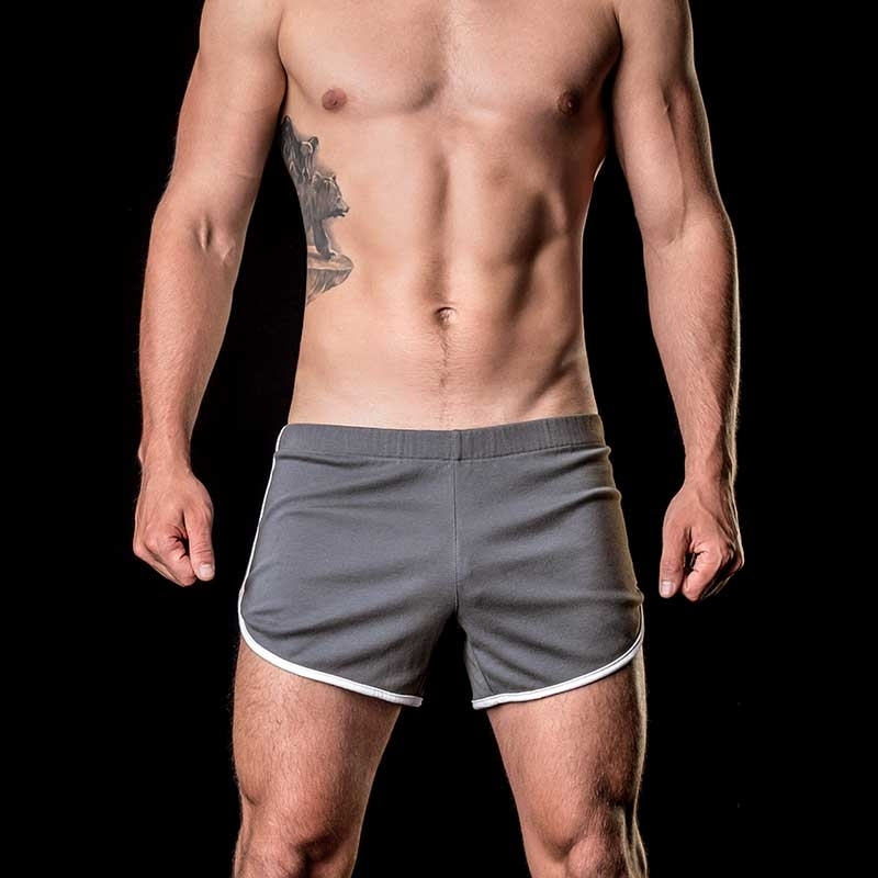 BARCODE Berlin SHORTS relax 91104 in grau