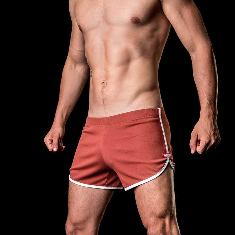 BARCODE Berlin SHORTS relax lounge ALPHA low 91104 soft line bordeaux