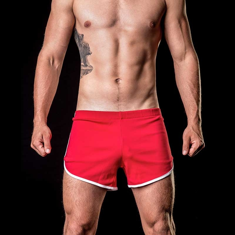 BARCODE Berlin SHORTS relax lounge ALPHA low 91104 softline red