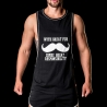 BARCODE Berlin TANK Top low cut SCHURBART bace 91105 casual look black