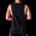 BARCODE Berlin TANK Top low cut SCHNURBART bace 91105 casual look black