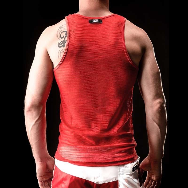 BARCODE Berlin Tank mesh red
