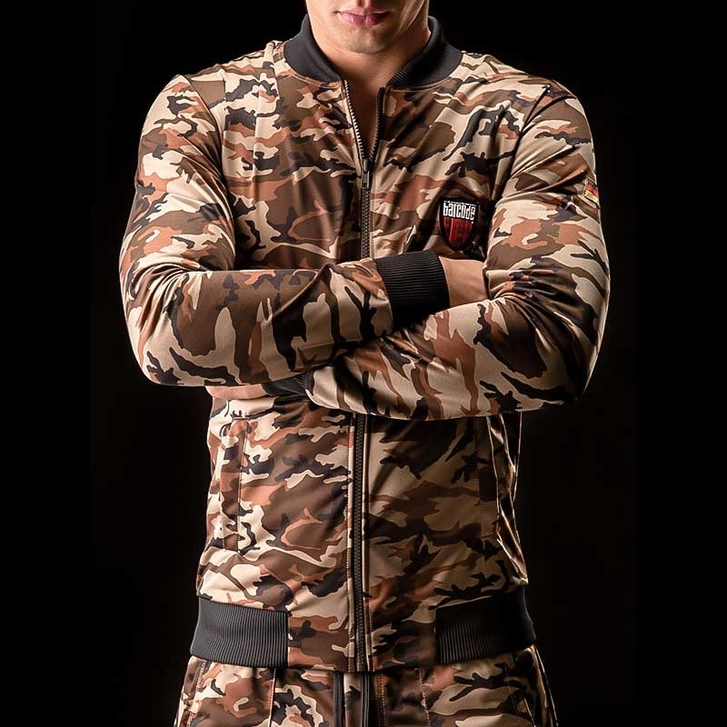 BARCODE Berlin JACKE sweat Army DON Juan 90803 Camouflage