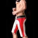 BARCODE Berlin trunks PANTS gym 90946 American Football Style in rot