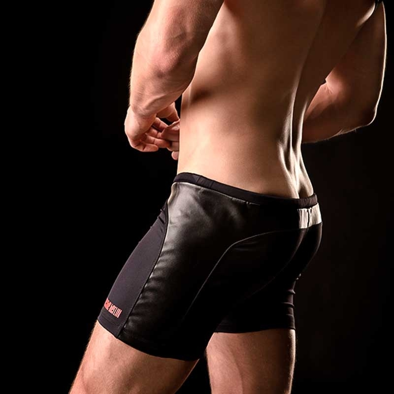 BARCODE Berlin wet SHORTS gym swim 90811 club in schwarz