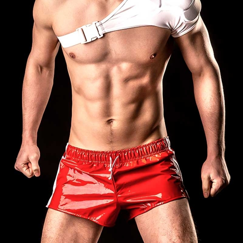BARCODE Berlin SHORTS LACK shinie LEON club 90714 badboy red