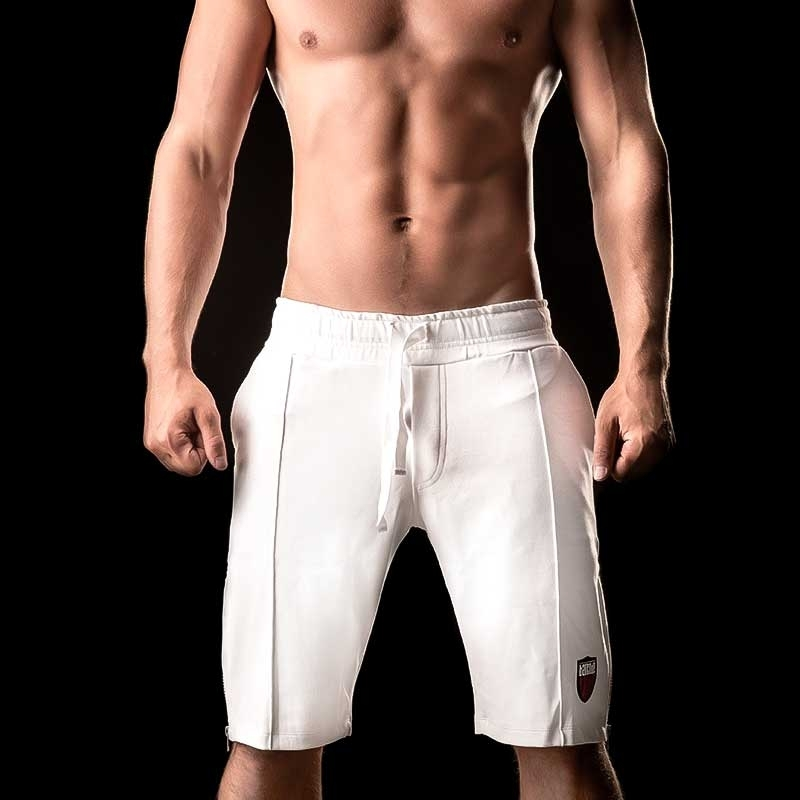 BARCODE Berlin SHORTS 4 Pocket RENATO lounge 90845 capri pants white