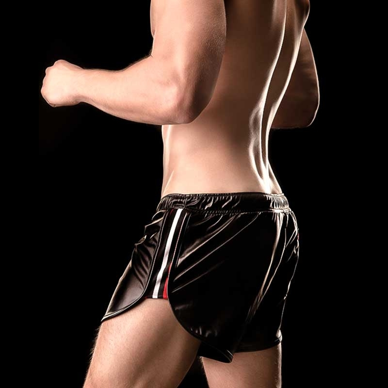 BARCODE Berlin SHORTS WET athletic PINO 90872 club blackstyle