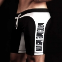BARCODE Berlin SHORTS athletic BERLIN backless 10119 HOLE biker pants black
